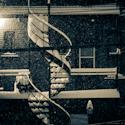 Soir de neige